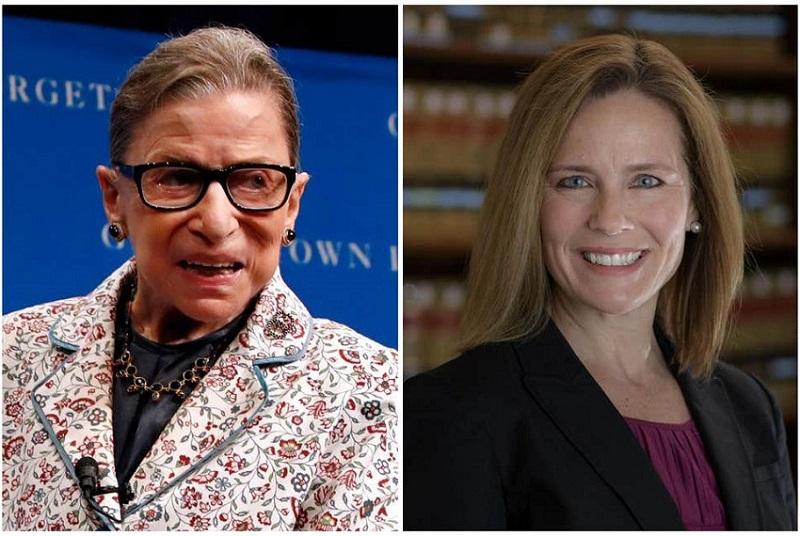 Tổng thống Trump ngày 26 tuyên bố đề cử Thẩm phán của phe Bảo thủ Amy Coney Barrett thay thế bà Ginsburg, đây là vị thẩm phán thứ ba được Trump đề cử, điều này rất hiếm thấy trong lịch sử các đời Tổng thống Mỹ