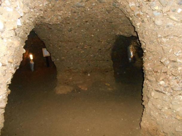Mê cung ngầm thời tiền sử bên dưới kim tự tháp Bosnia. (Ảnh: Tiến sĩ Sam Semir Osmanagich)